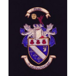 """Embroidery Coat of Arms & Crest (10"""" x 8"""")"""